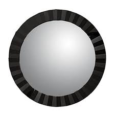 philos capsule round mirror black