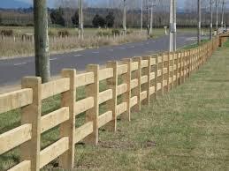 Post And Rail 3 Rail Fences Boundaryline New Zealand