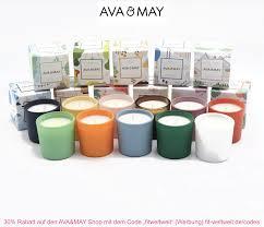 Probeset Duftkerzen AVA & MAY Mini Kerzen - fit-weltweit.de