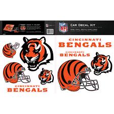 Skinit Cincinnati Bengals Car Decal Kit Walmart Com Walmart Com