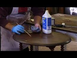 how to repair scratches on a wood table