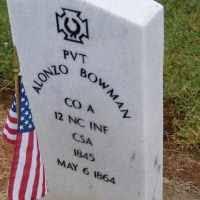 Alonzo Bowman (1845-1863) • FamilySearch