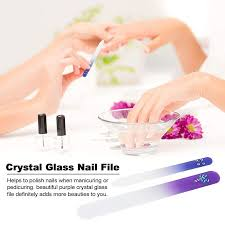 nail toe trimme 2 pcs nail file crystal