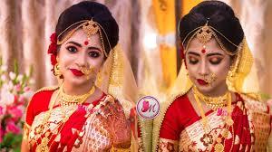 best indian bengali bridal makeup