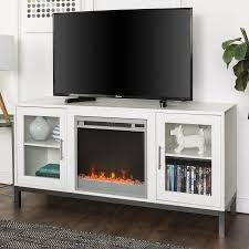 home products fireplace tv stand