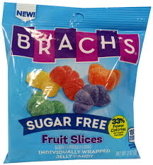 brach s sugar free fruit slices at