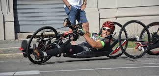 Da S.Pellegrino all'autodromo di Monza sulla sua handbike, Andrea ...
