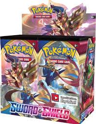 Booster Box Pokemon Sword and Shield - The Comic Shop