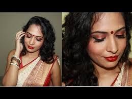 durga pooja bengali bridal makeup