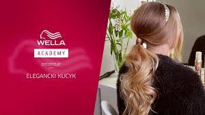 Jak Upiac Wieczorowego Kucyka Tutorial Hair Coach Wella Polska