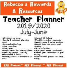 printable teacher planner cheap easy ready