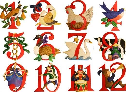 """Image result for picture of 12 days of christmas"""""""