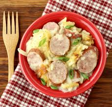 crockpot sausage and potatoes recipe