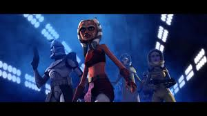 star wars clone wars animation sci fi