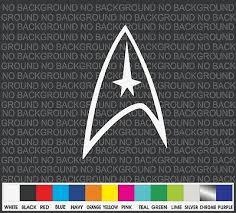 Star Trek Logo Superhero Comic Car Truck Window Decal Sticker Laptop Ebay