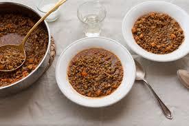 zuppa di lenticchie recipe umbrian