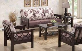 wooden sofa set from my home furniture