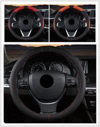 Auto Steering Wheel Cover 38cm Car Interior Accessories For Renault Megane Kadjar Ez Go Captur Arkana Zoe Steering Covers Aliexpress