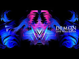 demon live wallpaper free apps on