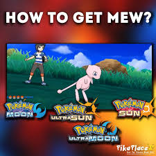 How to get Mew in Pokémon Sun and Moon! (With images)