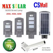 led solar powered street light
