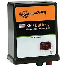 Amazon Com Gallagher G351504 B60 12 Volt Fencer 40 Acre 5 Mile Livestock Equipment Garden Outdoor