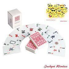mahjong mah jongg playing cards kards