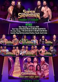 WWE Super Showdown 2020 Full Details (Date, Location, Match Card ...