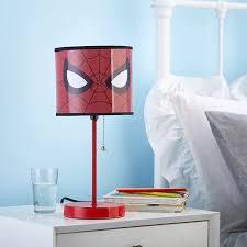 Amazon Com Marvel Spiderman Stick Lamp Red Toys Games