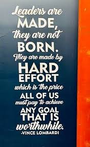 Vince Lombardi Leadership Quote Wall Decal 18 X 48 Ebay