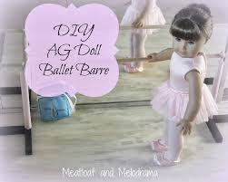 ballet barre for american dolls
