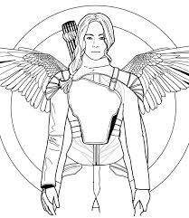 Hunger Games-il canto della rivolta lineart by Shingery on DeviantArt