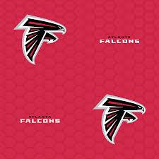 atlanta falcons logo pattern red