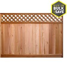 Severe Weather Actual 5 7 Ft X 8 Ft Fraserview Cedar Products Fraserview Cedar Products Brown Western R In 2020 Fence Panels For Sale Wood Fence Wooden Fence Panels