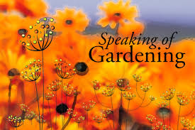 Claudia West — Speaking of Gardening