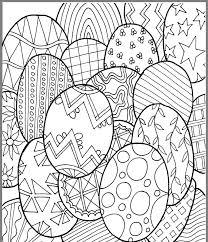 Kleurplaat Paaseieren Adult Coloring Pages Pasen