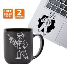 Fallout Vault Boy Vinyl Decals Free Shipping Etsy