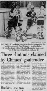 Three shutouts claimed by Chimos goaltender 02-02-1976 - Newspapers.com