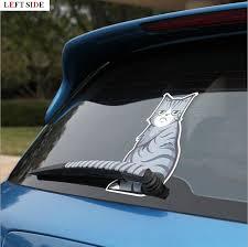 Left Side Car Stickers Car Sticker Windscreen Wiper Car Styling Vinyl Personality Window Waterproof Grey Stripe Reflective Cat Car Sticker Sticker Carcar Side Stickers Aliexpress
