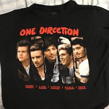 one direction shirt with picture and