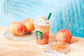 Disfruta Del Melocoton En El Nuevo Producto De Starbucks Peach On