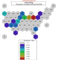 PULFER Last Name Statistics by MyNameStats.com