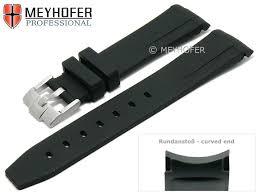 watch strap redding 20mm black rubber