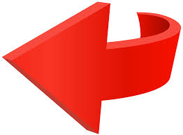Left Red Arrow Transparent PNG Clip Art Image | Gallery ...