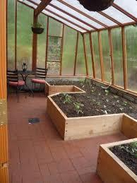 practical indoor greenhouse space