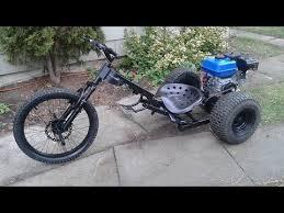 drift trike with a 7hp motor