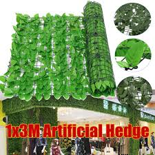 1x3m Artificial Leaf Hedge Leaf Roll Covering Fence Garden Yard Screen Decorations Fence Screen Buy At A Low Prices On Joom E Commerce Platform
