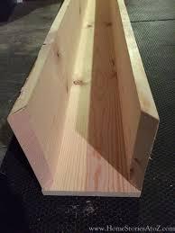 how to build a box beam mantel
