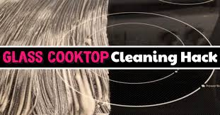 clean glass cooktop on your stove