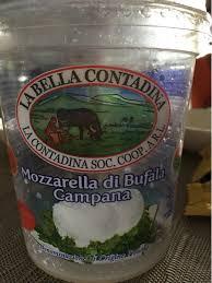 Mozzarella di Bufala Campana - La Bella Contadina